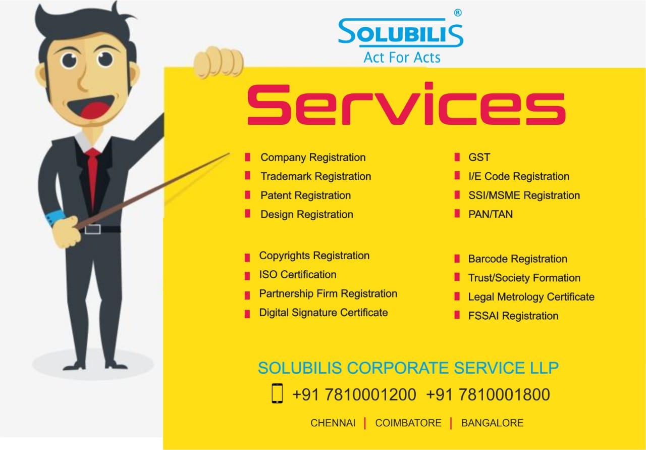 Trademark and Logo Registration in Chennai | Solubilis